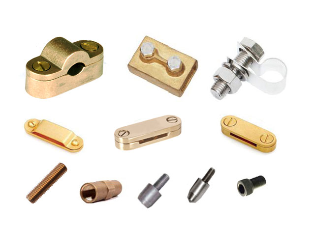 Brass Earthing & Lighting Protection Accessories | Adarsh Metals