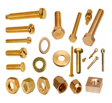 Brass Nut, Bolt & Washer | Adarsh Metals