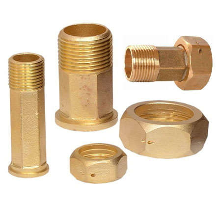 Brass Water Meter  Coupling Parts | Adarsh Metals